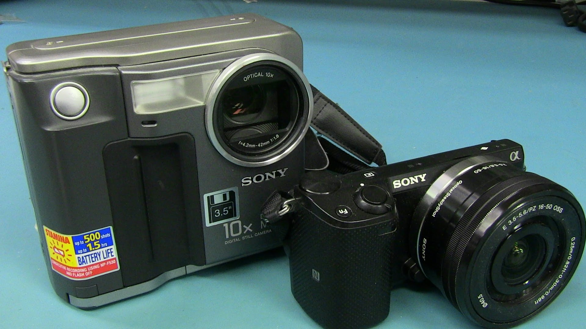 EEVblog #625 – Retro Teardown: Sony's First Digital Camera