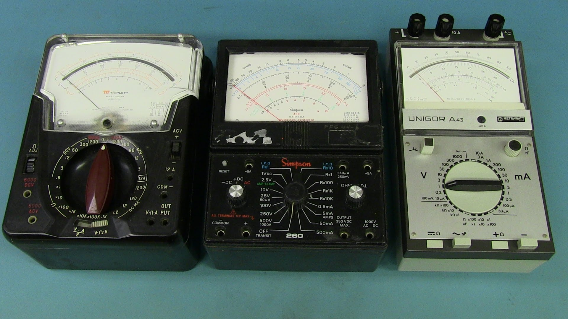 EEVblog #634 – Analog Multimeter Teardowns