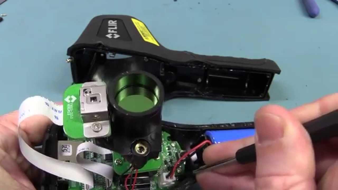 EEVblog #670 – FLIR TG165 Lepton Sensor Followup