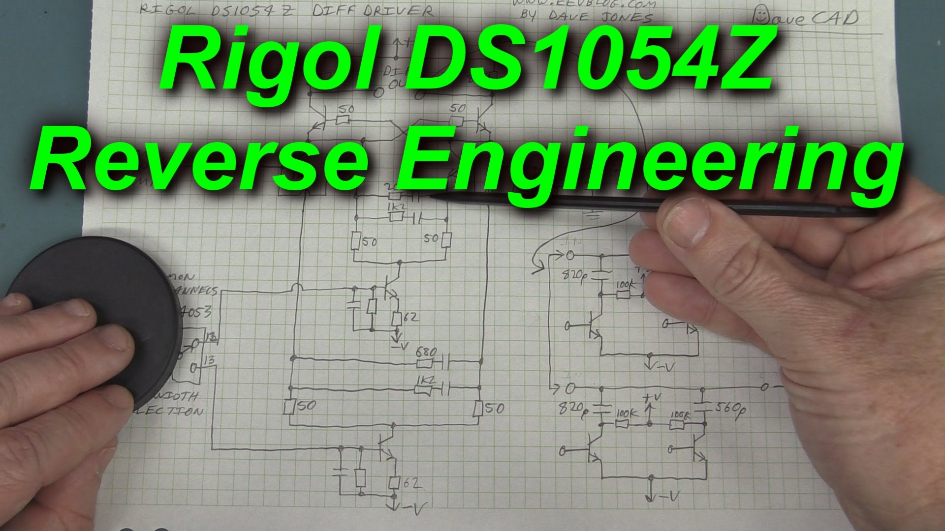 EEVblog #675 – How To Reverse Engineer A Rigol DS1054Z