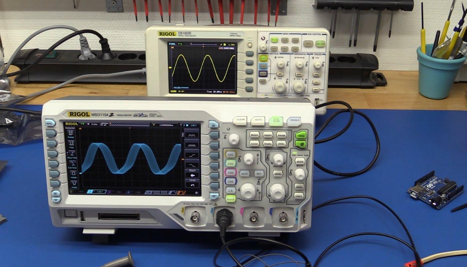 EEVblog #683 – Rigol DS1000Z & DS2000 Oscilloscope Jitter Problems