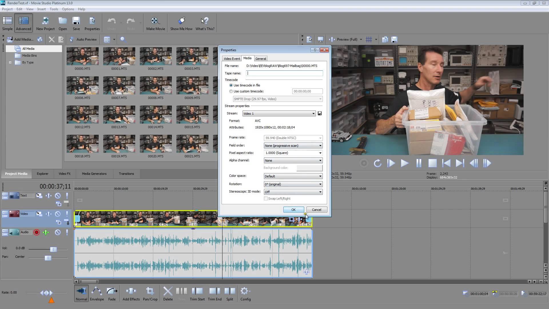 EEVblog #698 – GPU Video Rendering