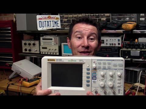 EEVblog #70 – Turn your Rigol DS1052E Oscilloscope into a 100MHz DS1102E (Hack)