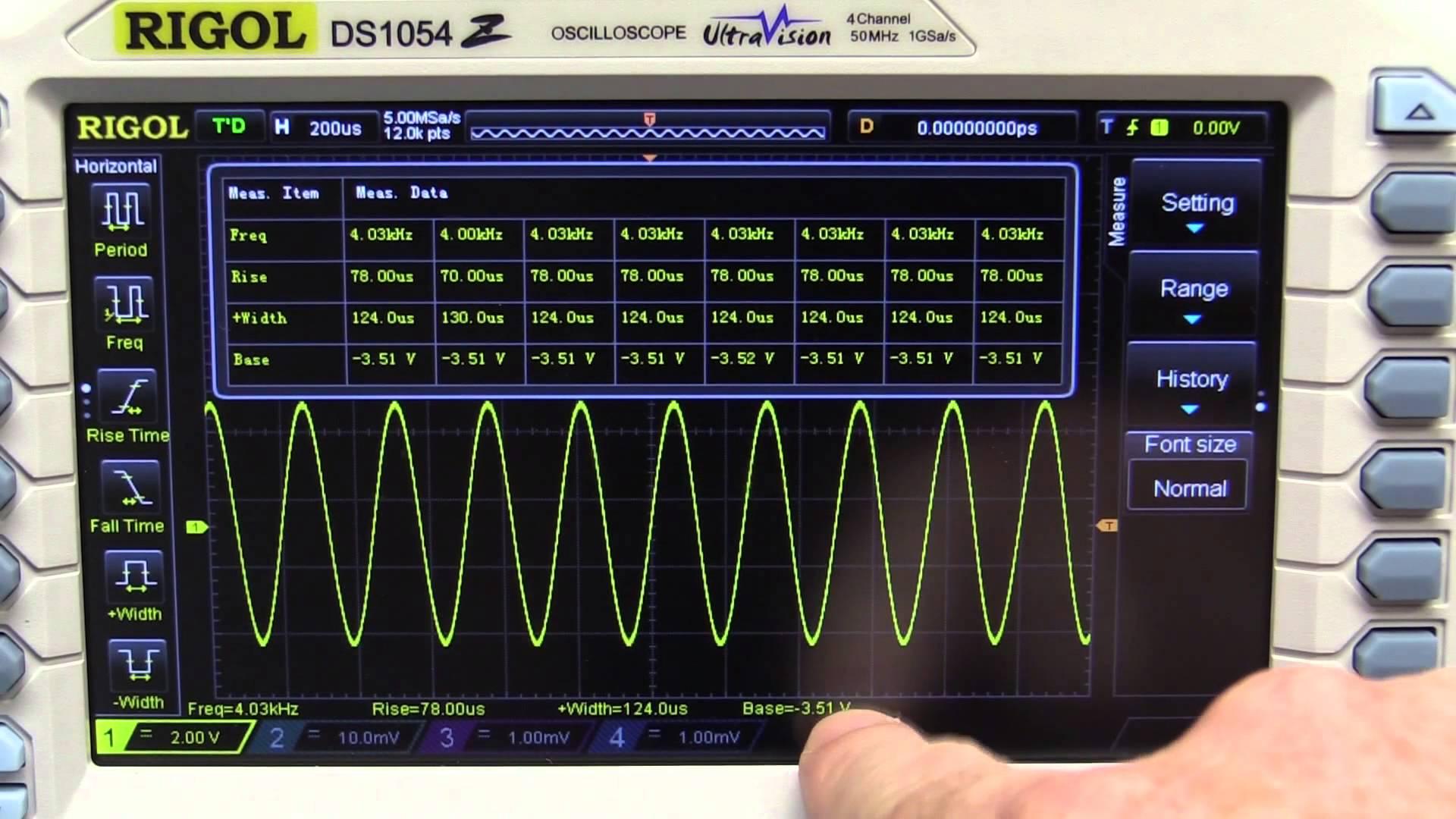 EEVblog #703 – Rigol DS1054Z Oscilloscope Review Summary