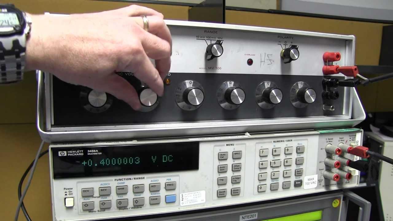 EEVblog #709 – EDC 4601 AC Voltage Standard Teardown