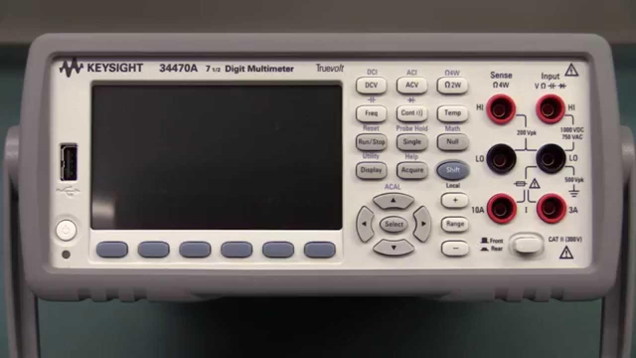 EEVblog #723 – Keysight 34470A 7.5 Digit Multimeter Teardown
