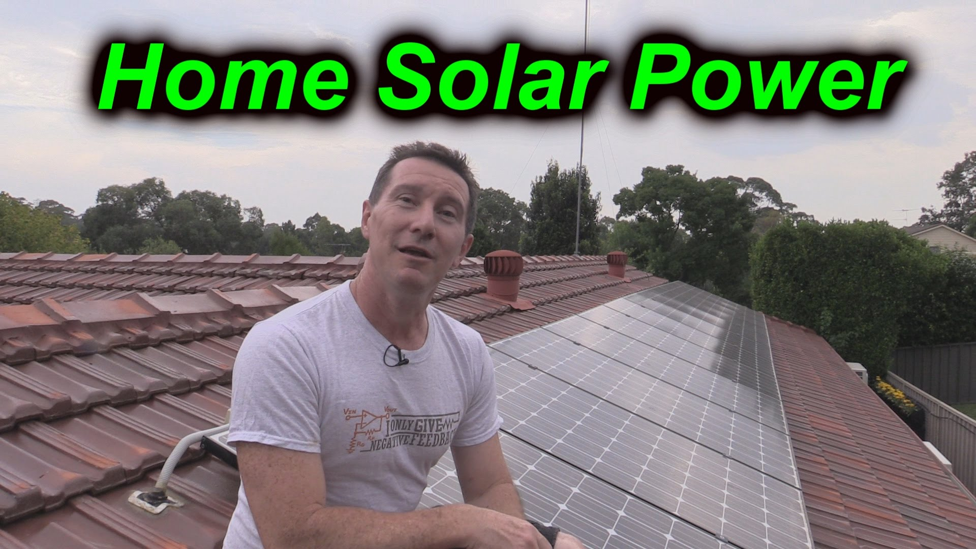 EEVblog #724 – Home Solar Power System Analysis & Update