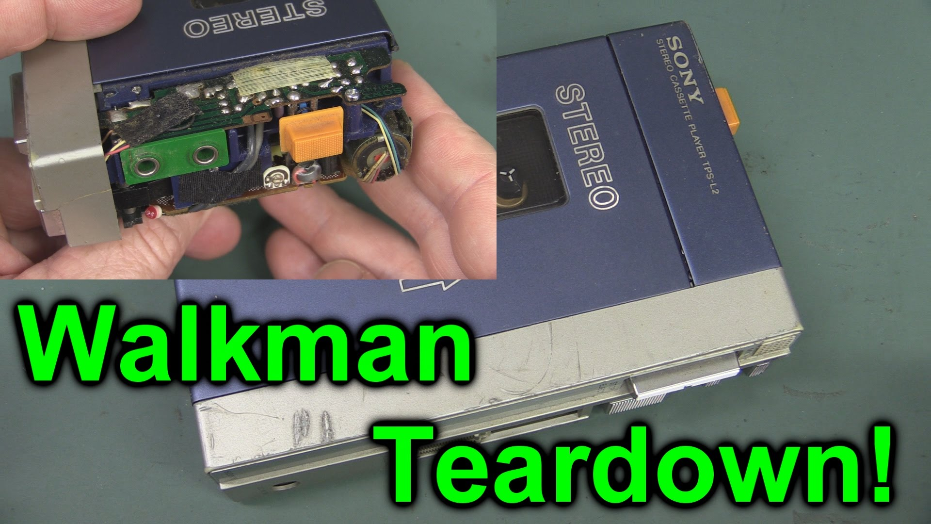EEVblog #752 – Original Sony Walkman TPS-L2 Teardown