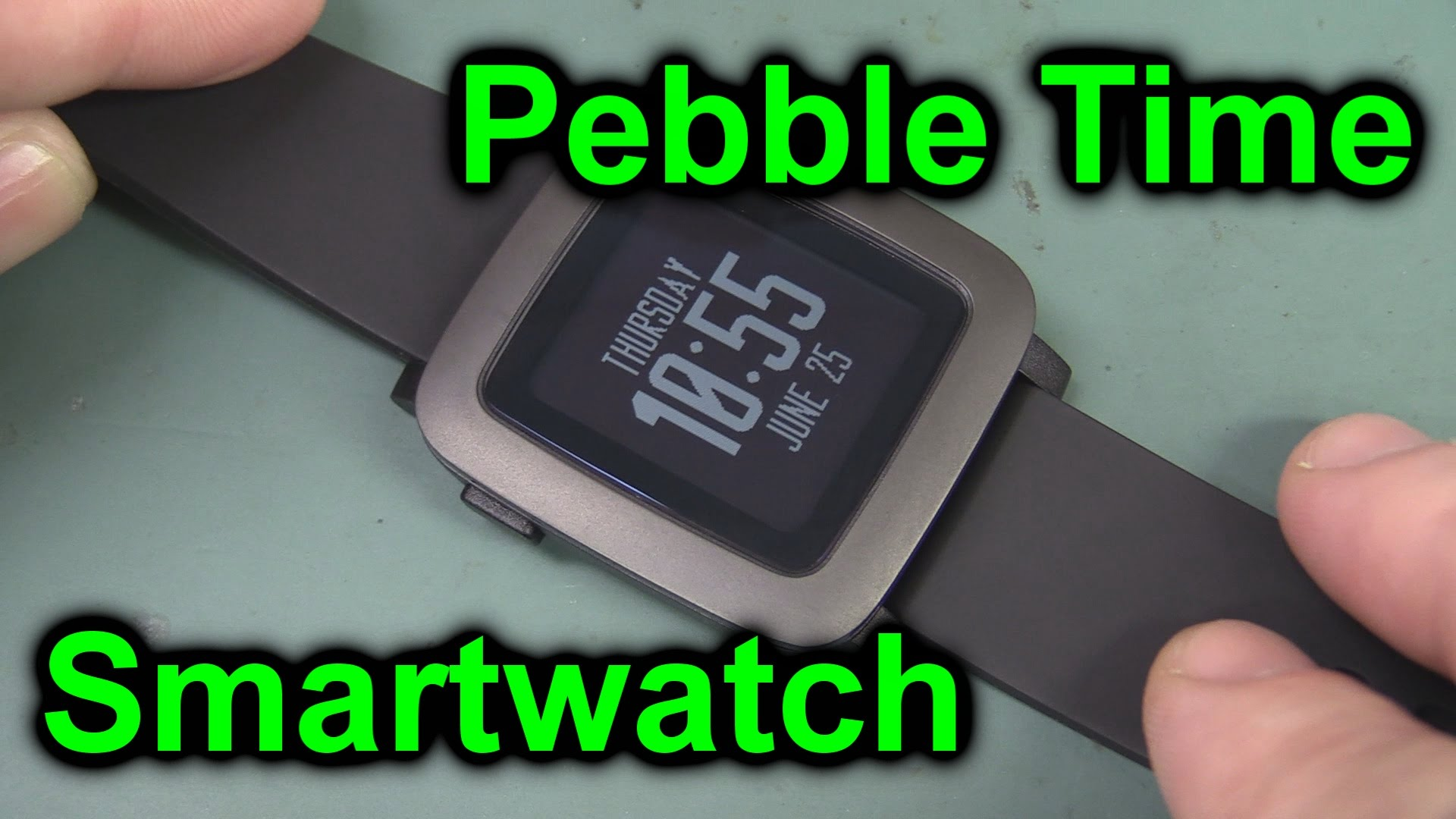 EEVblog #758 – Pebble Time Smartwatch Unboxing & Review
