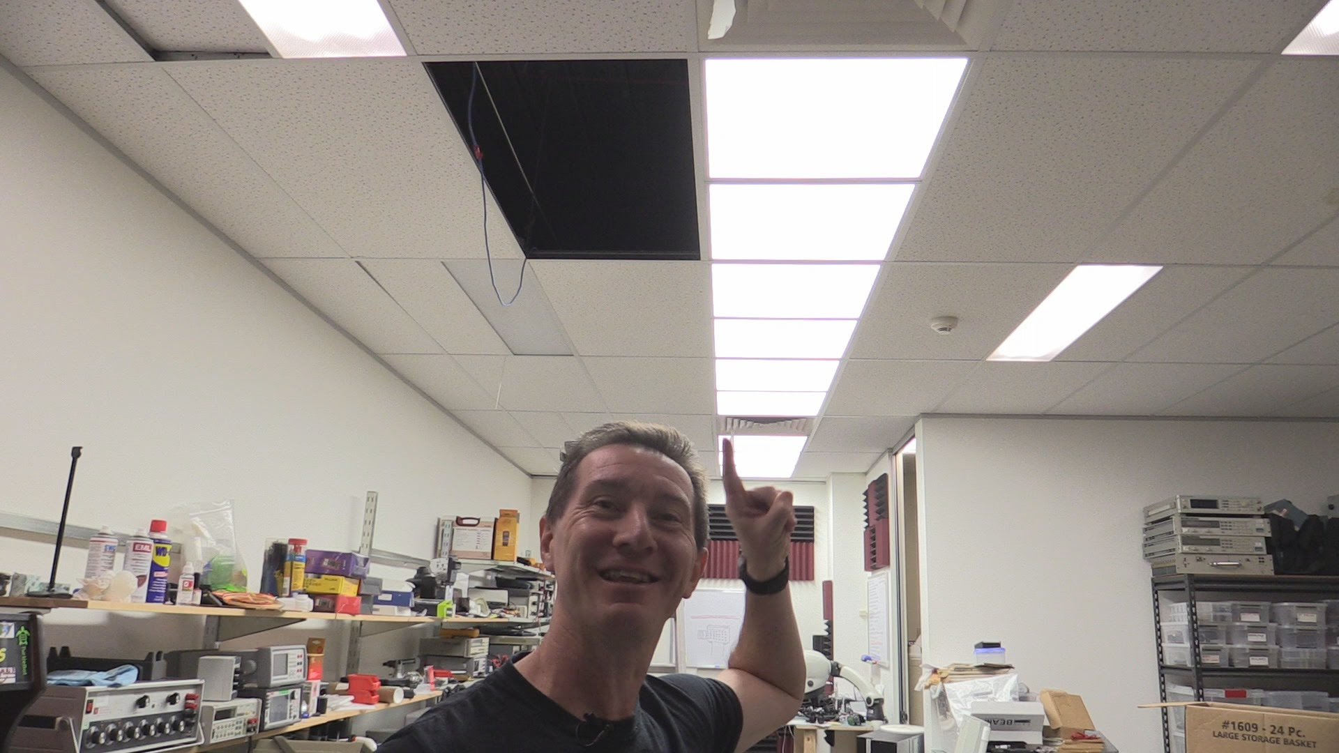 EEVblog #764 – New Lab Ceiling LED Lighting Installation