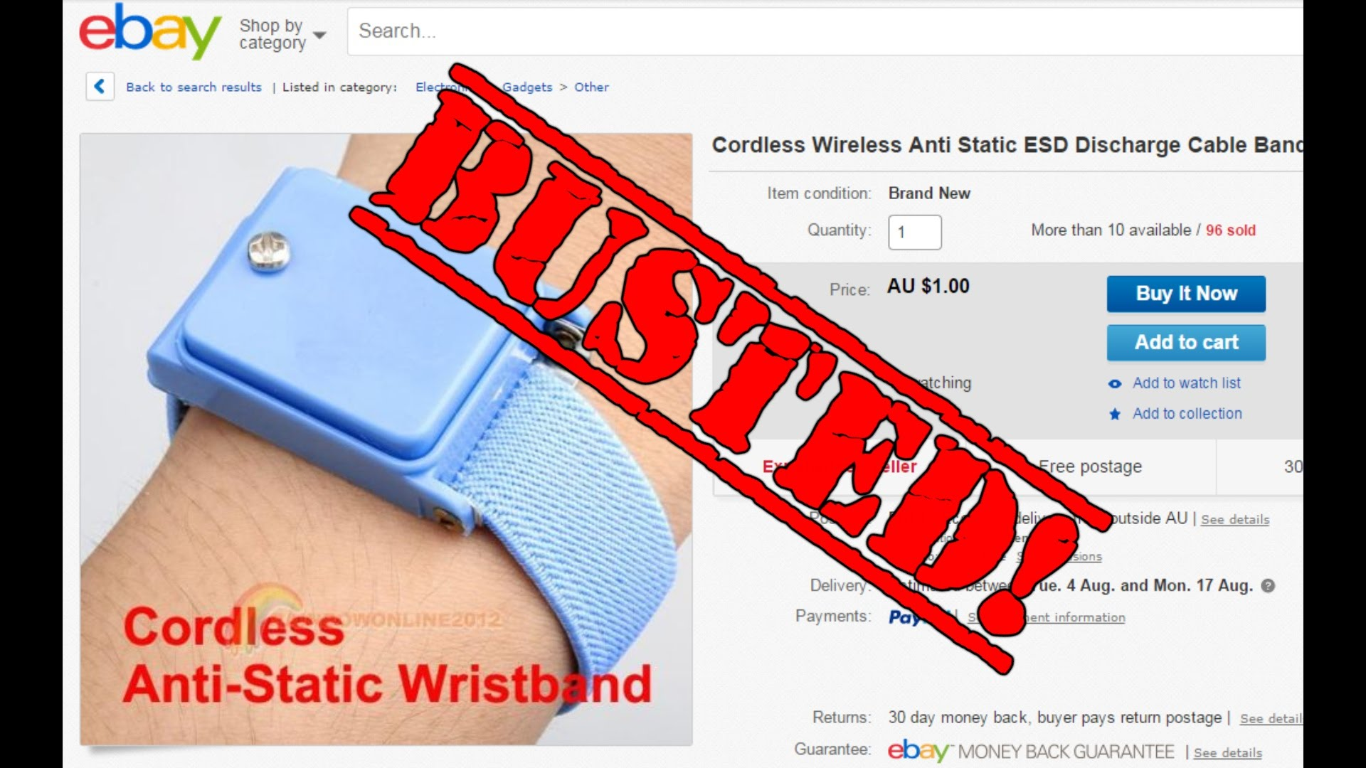 EEVblog #768 – Cordless Anti-Static Wristbands BUSTED!