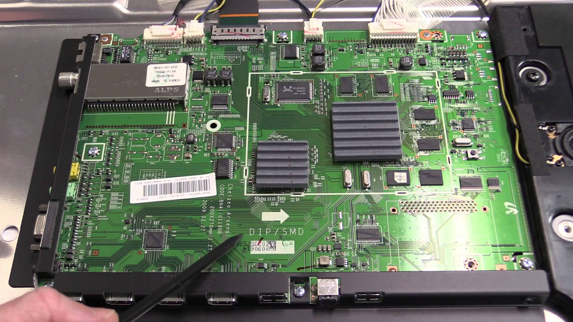 EEVblog #780 – Samsung LCD TV Dumpster Dive Teardown