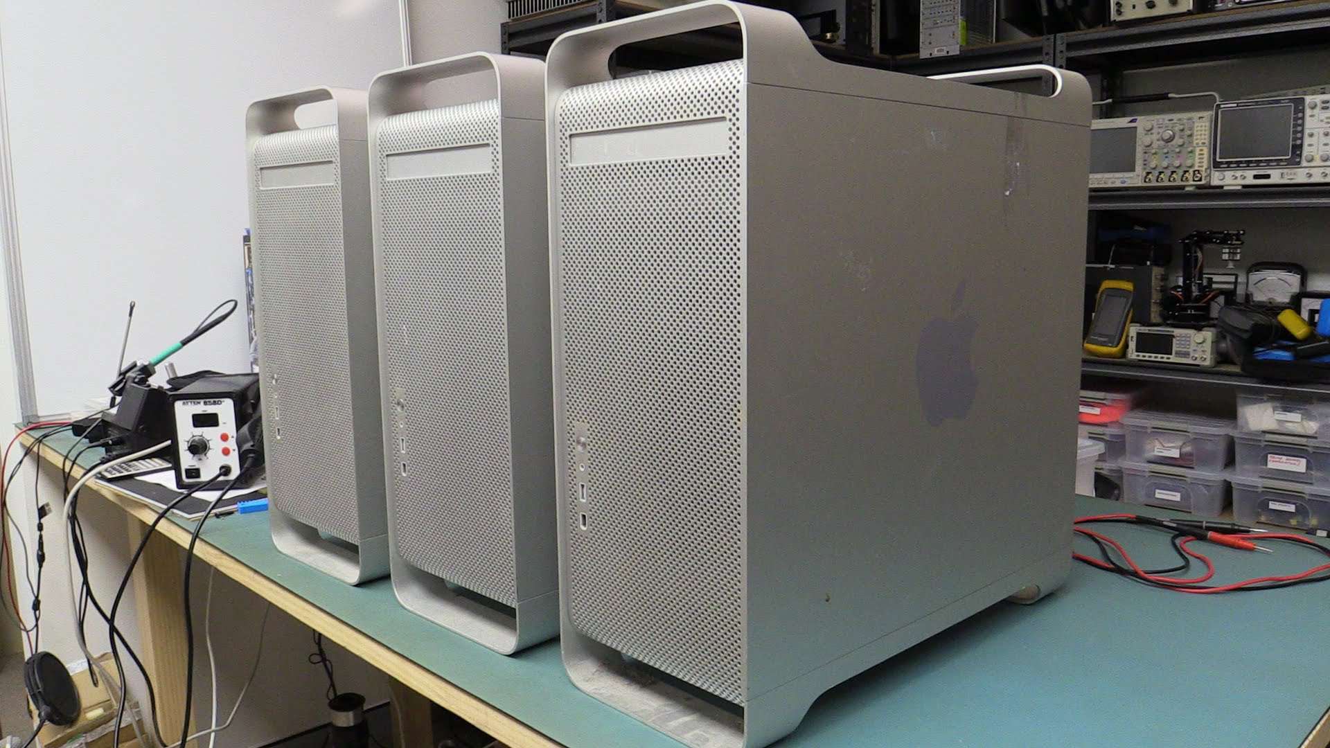EEVblog #783 – Dumpster Dive Power Macs