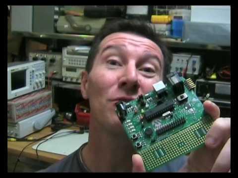 EEVblog #8 Part 1 of 2 – Graphical LCD display development