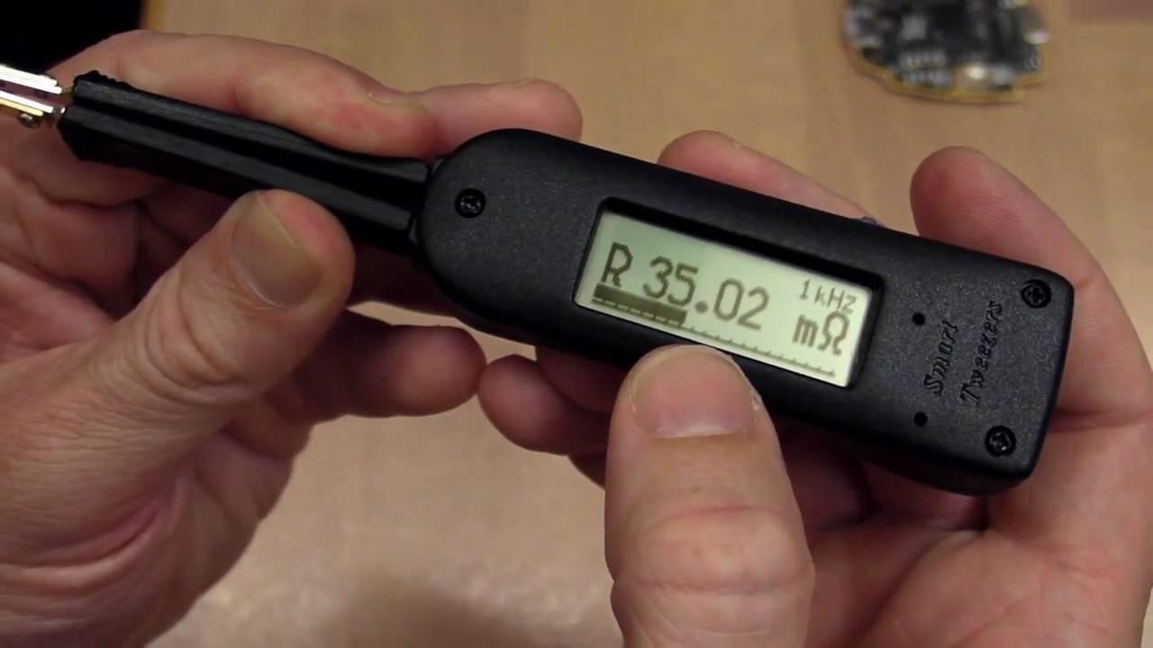 EEVblog #81 – Smart Tweezers LCR Meter Review And Teardown