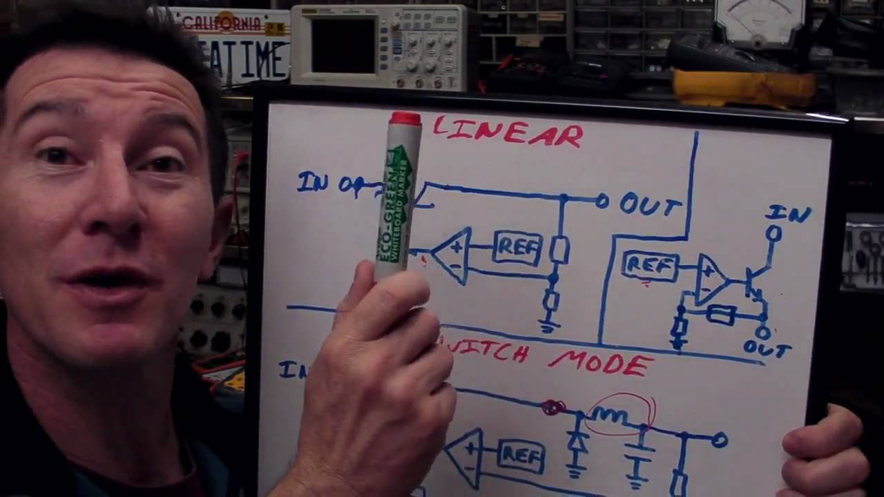 EEVblog #90 – Linear and LDO regulators and Switch Mode Power Supply Tutorial
