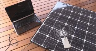 EEVblog #846 – Solar Panel Micrometeorite Impact!