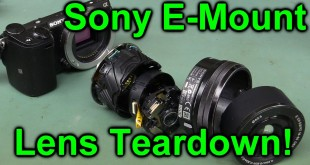 EEVblog #849 – Sony E-Mount Camera Lens Teardown