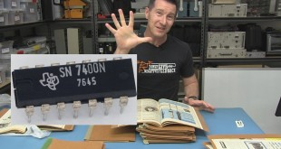 EEVblog #867 – The Search For The First TTL Chip