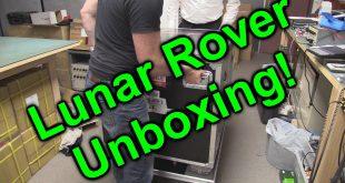 EEVblog #885 – Audi Quattro Lunar Rover Unboxing!