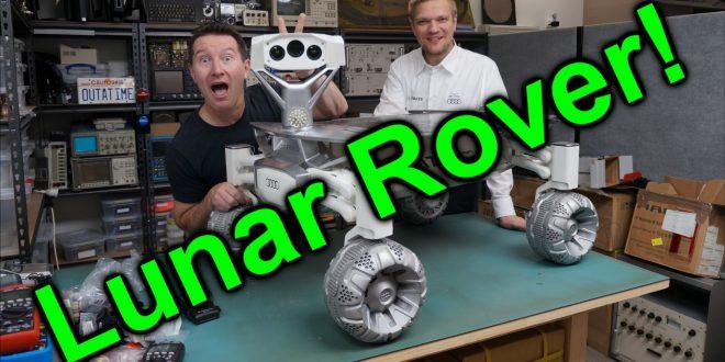 EEVblog #886 – Audi Lunar Quattro Moon Rover