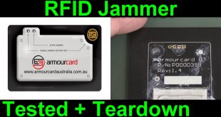 EEVblog #890 – ArmourCard Active RFID Jamming Teardown