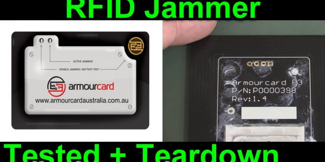 EEVblog #890 – ArmourCard Active RFID Jamming Teardown