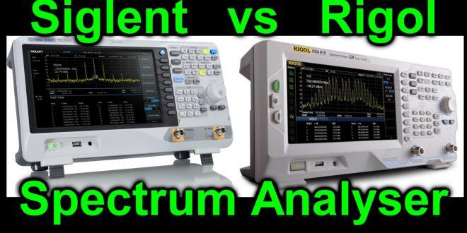 EEVblog #891 – Siglent SSA3021X vs Rigol DSA815 Spectrum Analyser