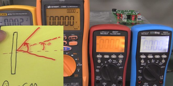 EEVblog #898 – LCD Contrast Experiments