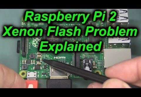 EEVblog #901 – Raspberry Pi 3 Photoflash Problem AGAIN!