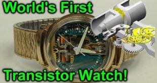 EEVblog #920 – World's First Transistor Watch!