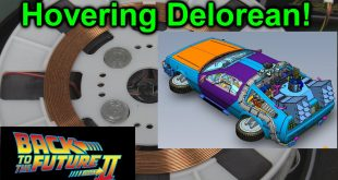 EEVblog #924 – Hovering Delorean!