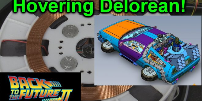 EEVblog #924 – Hovering Delorean!