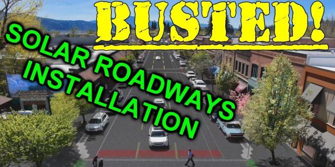 EEVblog #935 – Solar Roadways Installation BUSTED!